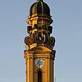 Munich Theatine Church Of St. Cajetan - Theatinerkirche St Kajetan by Christine Till