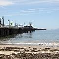 Municipal Wharf At The Santa Cruz Beach Boardwalk California 5d23766 by Wingsdomain Art and Photography