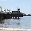 Municipal Wharf At The Santa Cruz Beach Boardwalk California 5d23767 by Wingsdomain Art and Photography