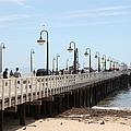 Municipal Wharf At The Santa Cruz Beach Boardwalk California 5d23773 by Wingsdomain Art and Photography