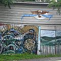 Mural Along Westerlo Avenue by James Connor
