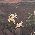 Mural - Grand Palace In Bangkok Thailand - 011312 by DC Photographer
