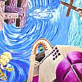 Church Mural by Maria Coulson