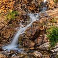 Murdock Basin Falls 2 by Gina Herbert