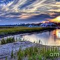 Murrells Inlet Sunset 4 by Mel Steinhauer