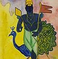 The Peacock by Vineeth Menon