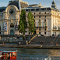 Musee D'orsay Along River Seine by Brian Jannsen
