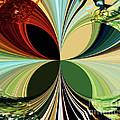 Music In Bird Of Tree Kaleidoscope by Genevieve Esson