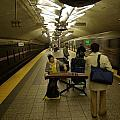Music In New York Subway by Andy Fletcher
