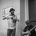 Music In The French Quarter by David Morefield