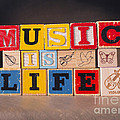Music Is Life by Art Whitton