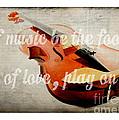 Music Lover Card by Edward Fielding