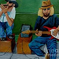 Music Of The Street by Anthony Dunphy