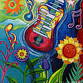 Music On Flowers by Genevieve Esson