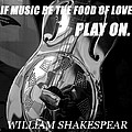 Music The Food Of Love by David Lee Thompson