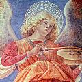 Musical Angel With Violin by Melozzo da Forli