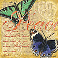 Musical Butterflies 2 by Debbie DeWitt