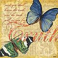 Musical Butterflies 3 by Debbie DeWitt