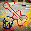 Musical Instruments Bike Rack by Kelly Awad