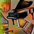 Musical Instruments With Keyboards by Design Pics Eye Traveller