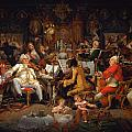 Musicians Of The Old School by Celestial Images