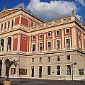 Musikverein Gesellschaft Der Musikfreunde Building Vienna Austria by Jason O Watson