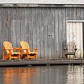 Muskoka Chairs by Les Palenik