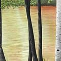 Muskoka Lagoon by Kenneth M  Kirsch