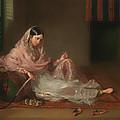 Muslim Lady Reclining by Mountain Dreams