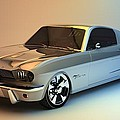 Mustang 66 by Louis Ferreira
