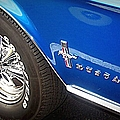 Mustang Blue by Bobbee Rickard