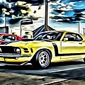 Mustang Boss 302 by Florian Rodarte