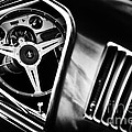 Mustang Interior Monochrome by Tim Gainey