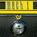 Mustang Mach 1 Emblem 2 by Jill Reger
