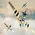 Mustang P-51  by Tony Pierleoni