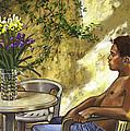 Mustapha's Garden by Douglas Simonson