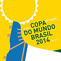 My 2014 World Cup Soccer Brazil - Rio Minimal Poster by Chungkong Art