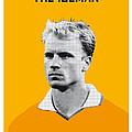 My Bergkamp Soccer Legend Poster by Chungkong Art