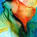 My Cup Runneth Over - Abstract Art By Sharon Cummings by Sharon Cummings