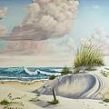 My Favorite Beach II by Wanda Dansereau
