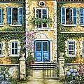 My French Villa by Marilyn Dunlap