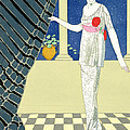My Guests Have Not Arrived by Georges Barbier