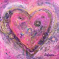 My Heart Of Circles by Laurie Maves ART