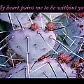 My Heart Pains Me To Be Without You 7 by Tamara Kulish