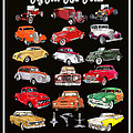Hot Rod Ford Poster by Jack Pumphrey