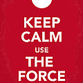 My Keep Calm Star Wars - Rebel Alliance-poster by Chungkong Art