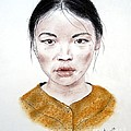 My Kuiama A Young Vietnamese Girl  by Jim Fitzpatrick