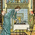 My Lady's Chamber by Walter Crane