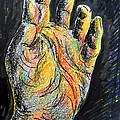 My Left Hand 3 by Roberto Gagliardi