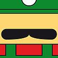 My Mariobros Fig 02 Minimal Poster by Chungkong Art